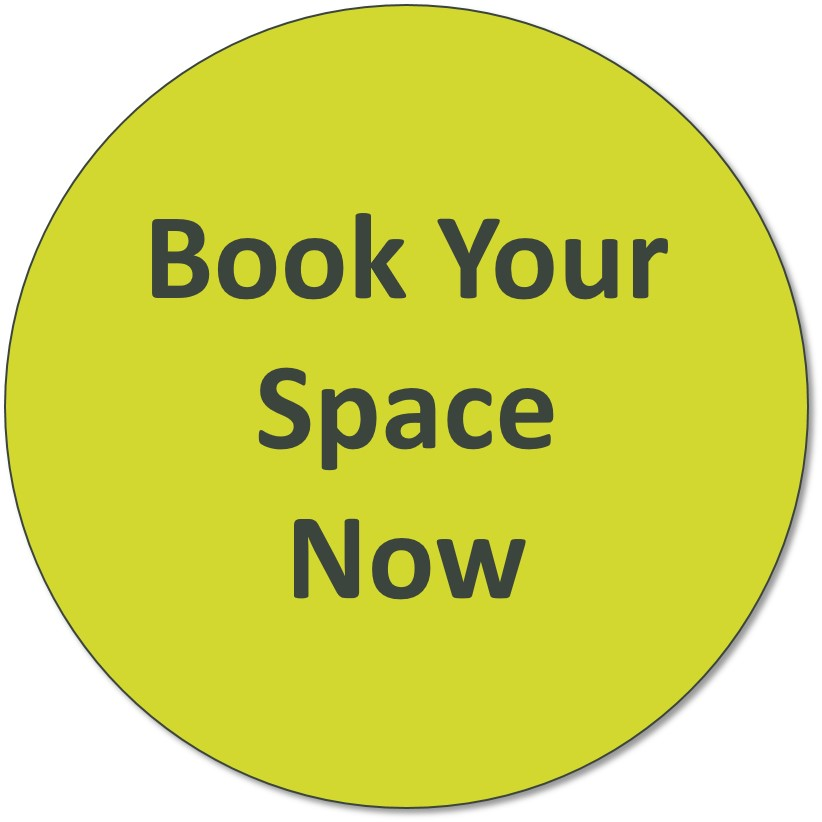 'Book your space now' image